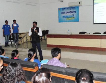 Smoking, Drinking and Drug Awareness Workshop